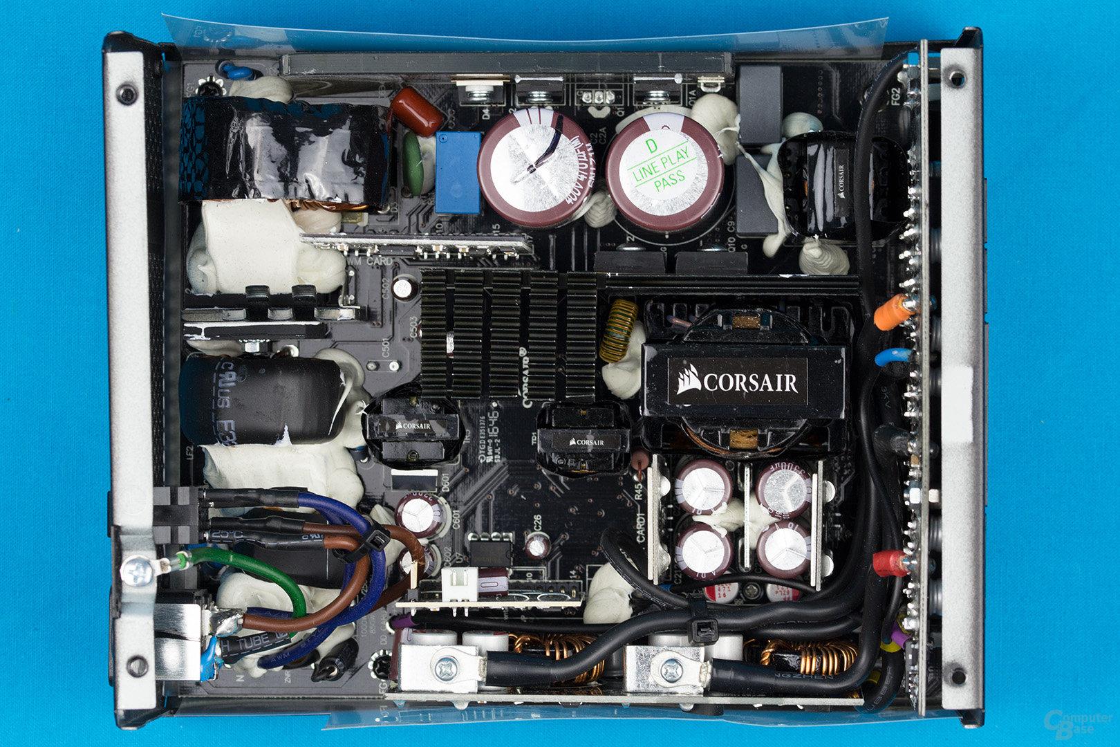 Corsair HX850 – Überblick Elektronik