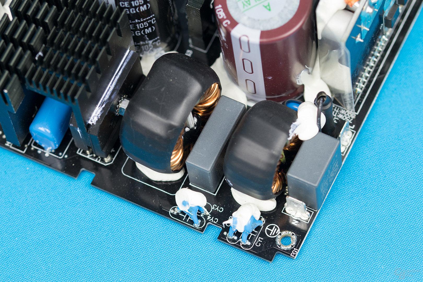 Enermax MaxTytan 800W – Eingangsfilter