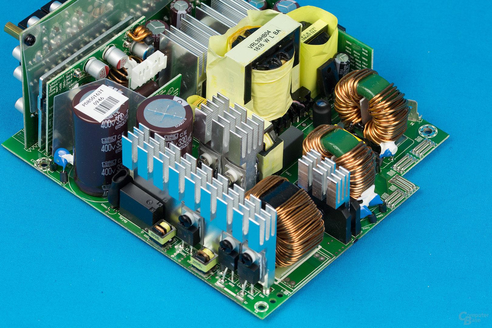 Sea Sonic Prime Platinum 850W – APFC und LLC-Vollbrücke
