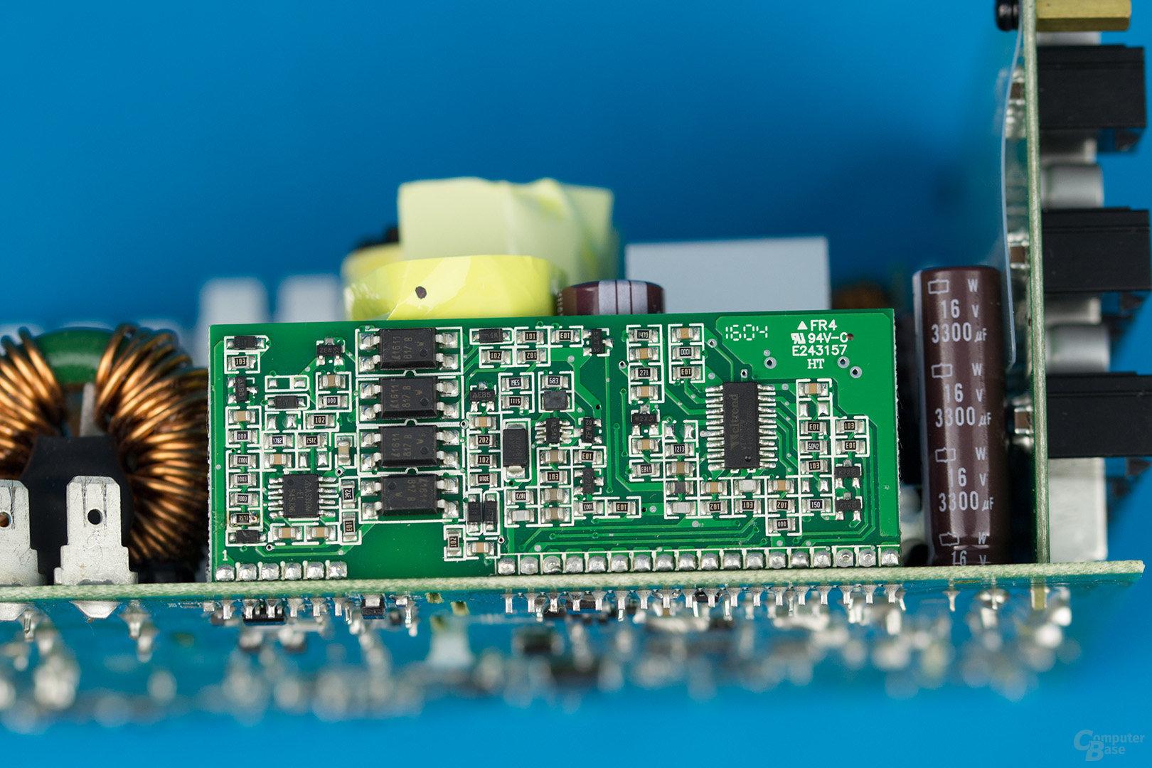 Sea Sonic Prime Platinum 850W – Vertikale Platine mit Supervisor IC