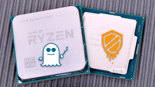 Meltdown & Spectre: Benchmarks mit AMD und Intel unter Windows7 und 10