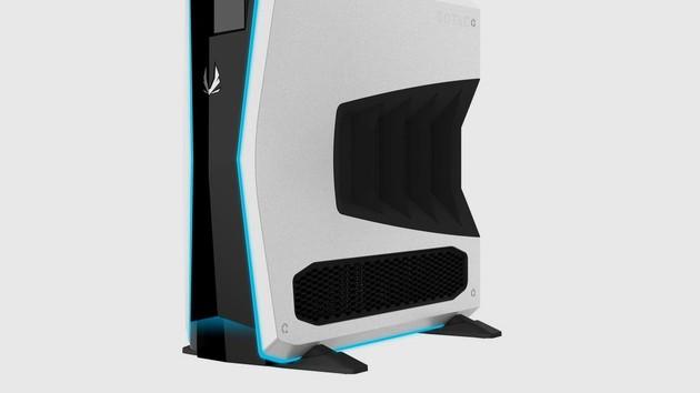 Zotac MEK1: Erster Gaming-PC im Tower-Format macht auf schlank