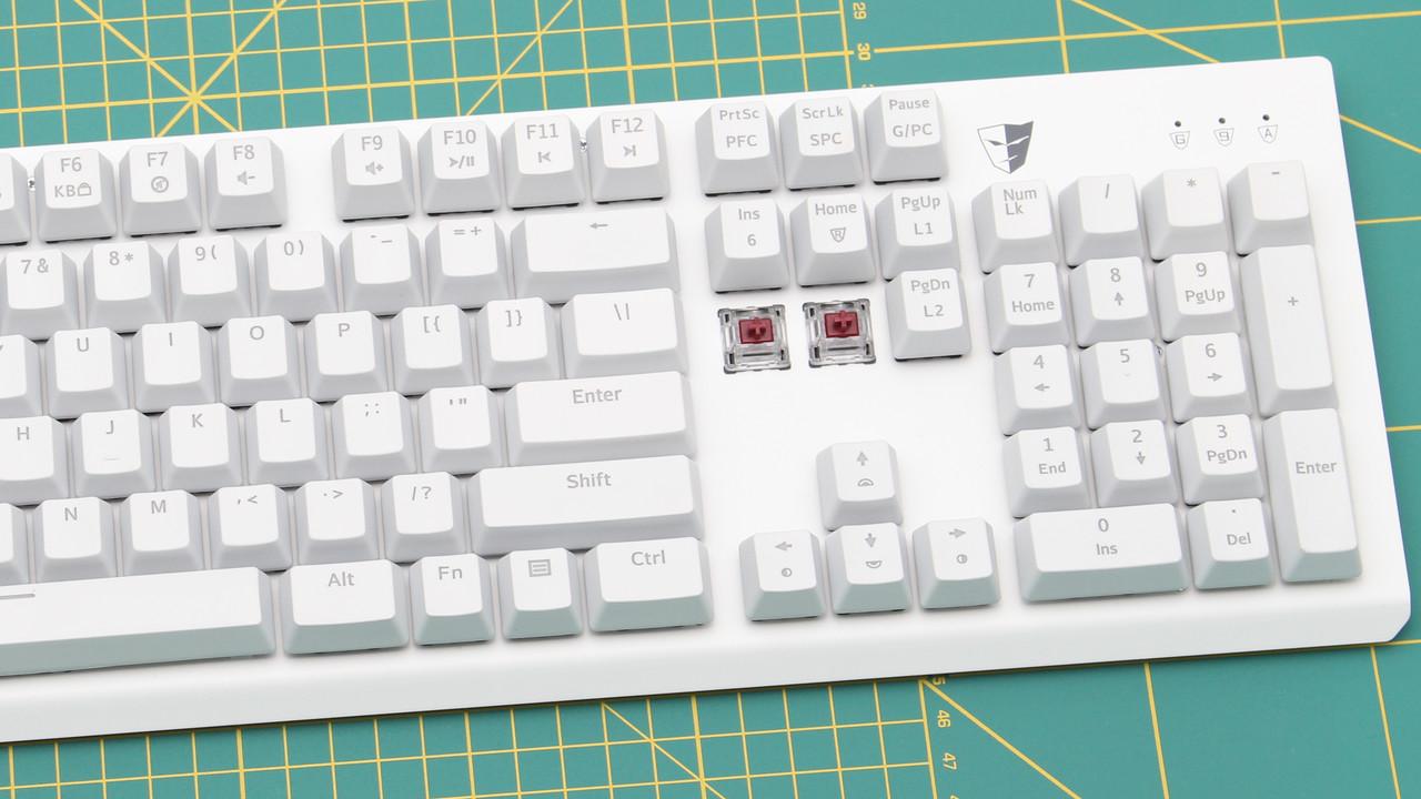 Tesoro Gram SE Spectrum im Test: Optische Taster scheitern an ihrer Tastatur