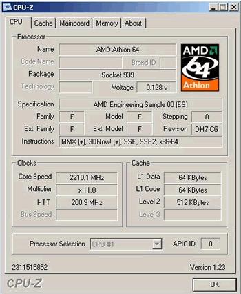 "Athlon 64 3500+ ""Winchester""   Quelle: VR-Zone"