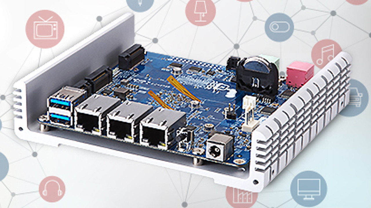 QNAP: IoT-Mini-Server QBoat Sunny für Entwickler