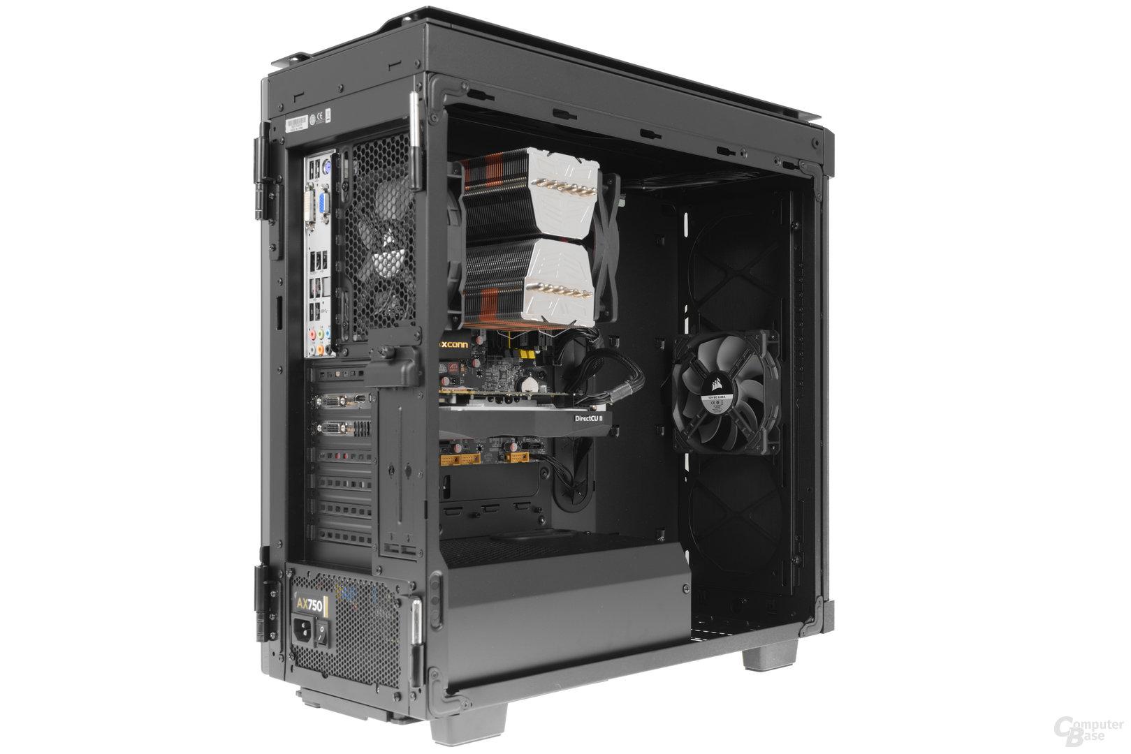Corsair Obsidian 500D – Testsystem