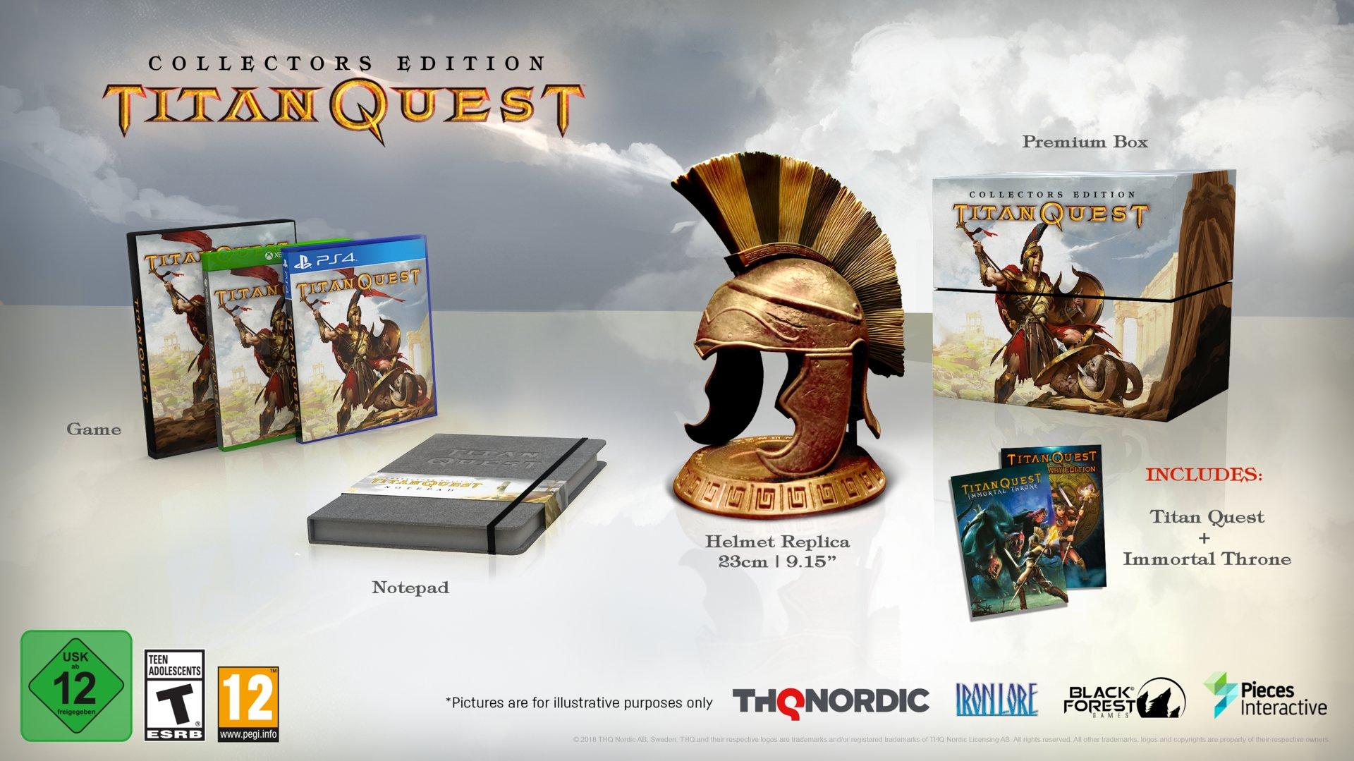 Titan Quest Collectors Edition