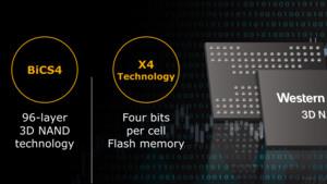 Western Digital: BiCS4-Flash mit 96 Layern kommt schneller als gedacht
