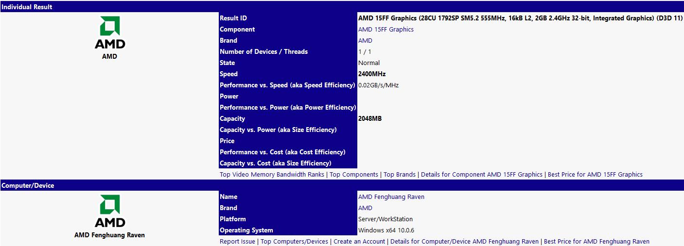 AMD Fenghuang Raven