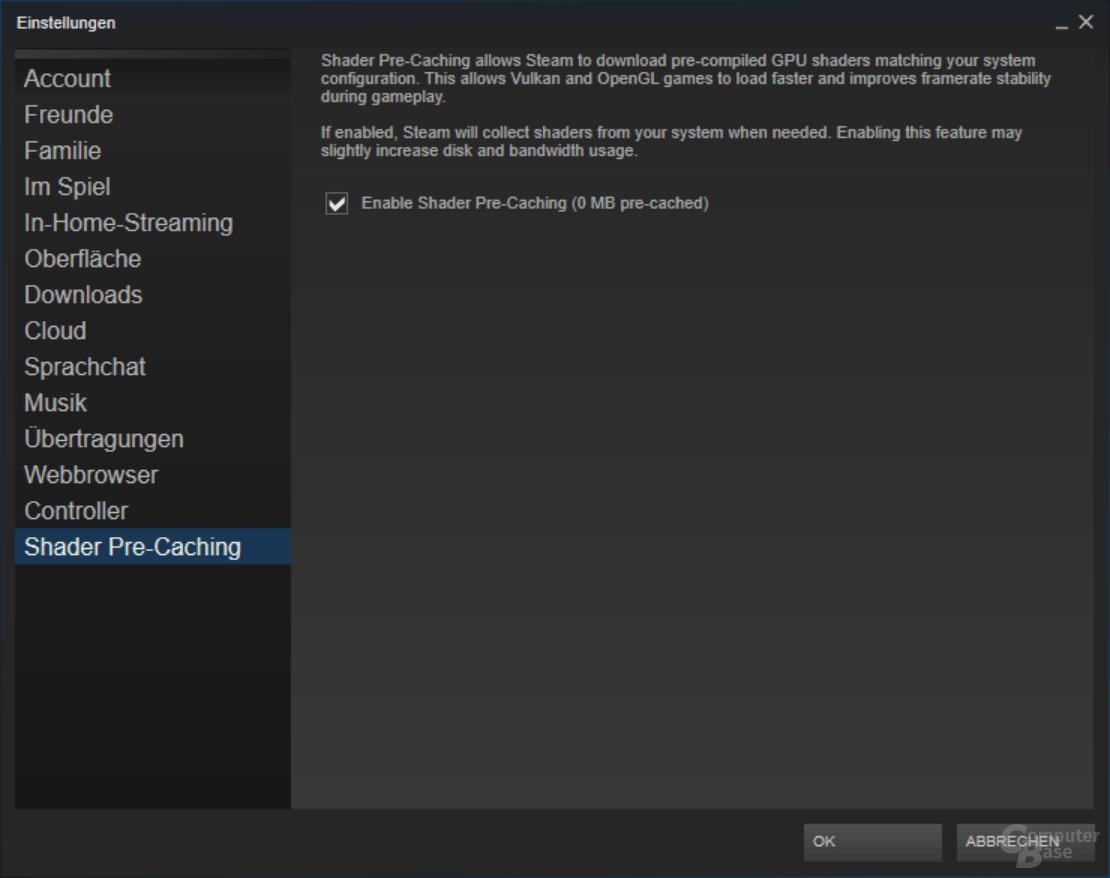 "Steam ""Shader Pre-Caching"""