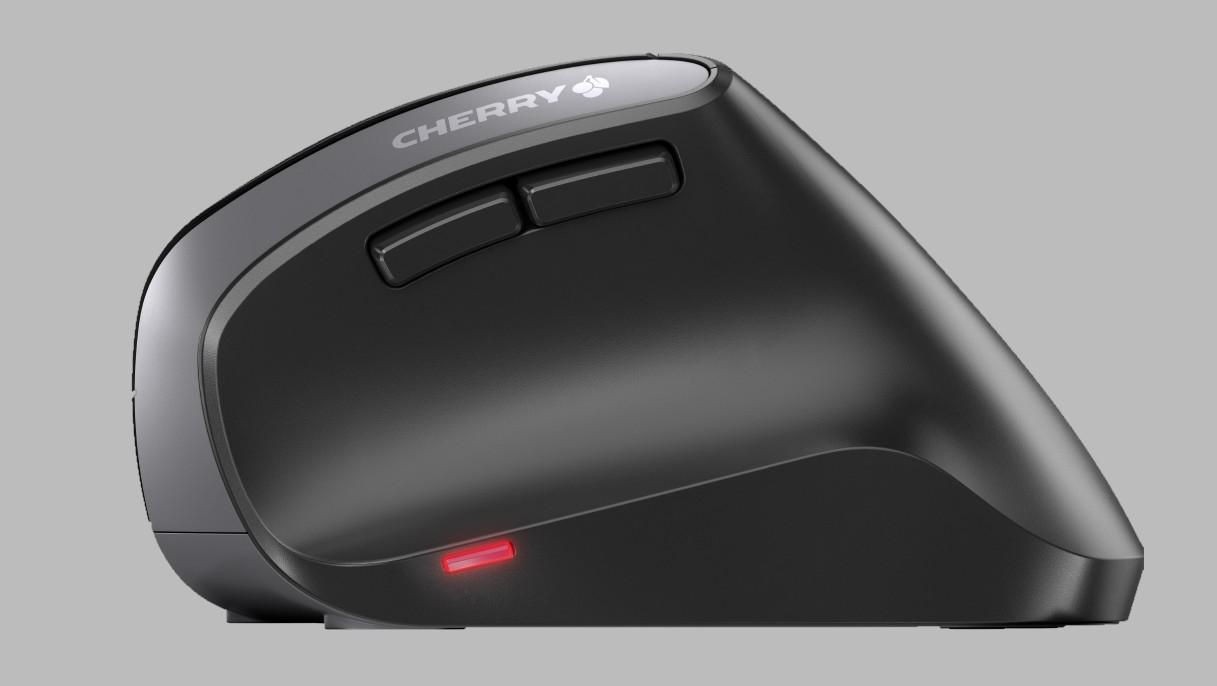 Cherry MW 4500 & Strait 3.0: Erste vertikale Maus und flache Tastatur mit Mac-Tasten