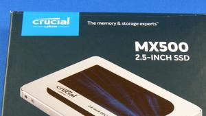 Crucial MX500 im Test: Die beste MX-SSD seit der MX100