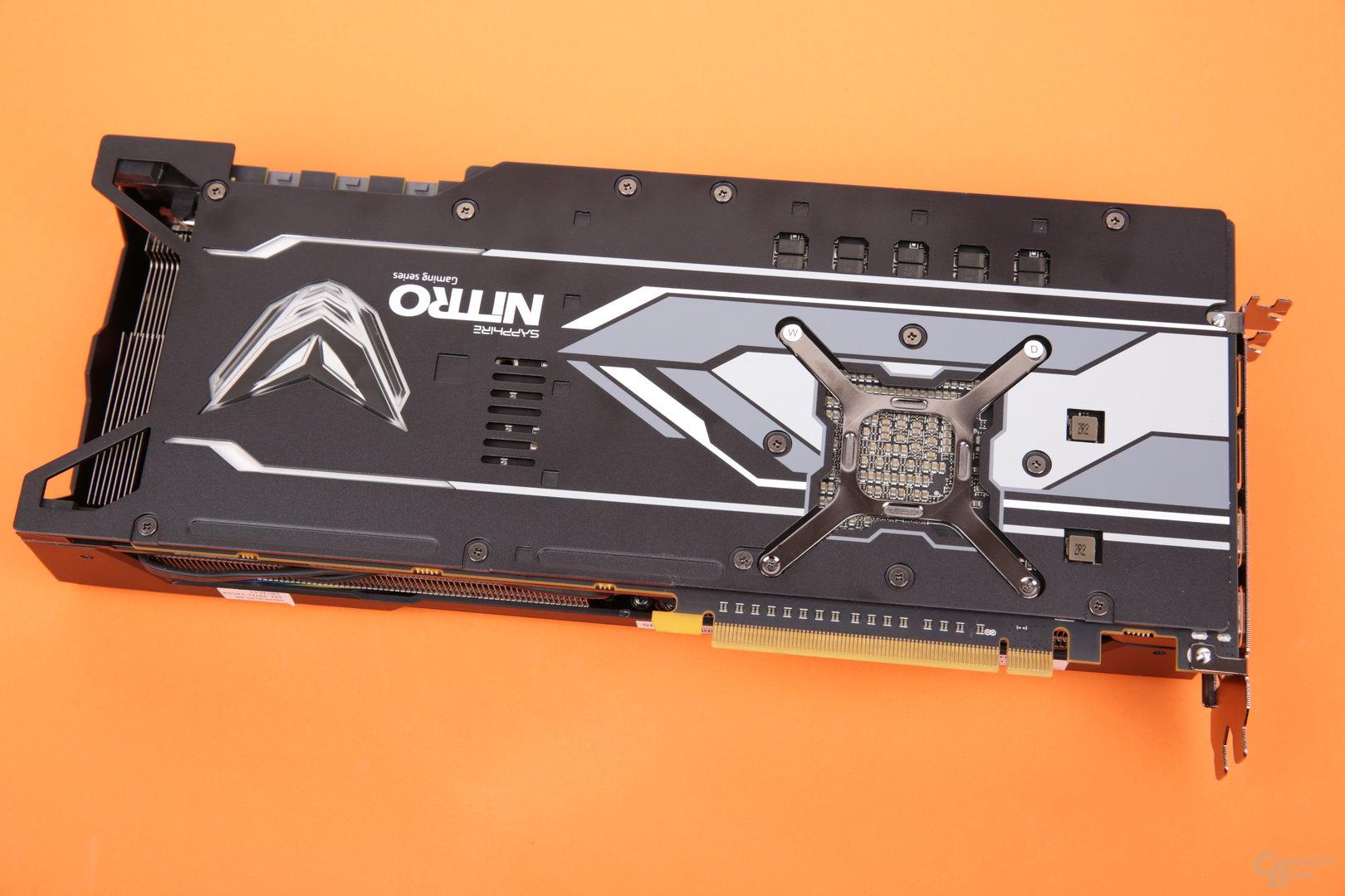 Sapphire Radeon RX Vega 56 Nitro+ – Rückseite