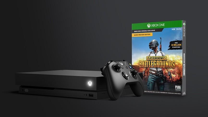 Aktion: PUBG gratis beim Kauf einer Xbox One X