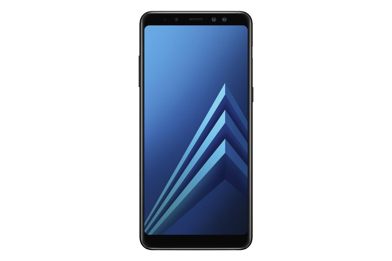 Galaxy A8 in Schwarz