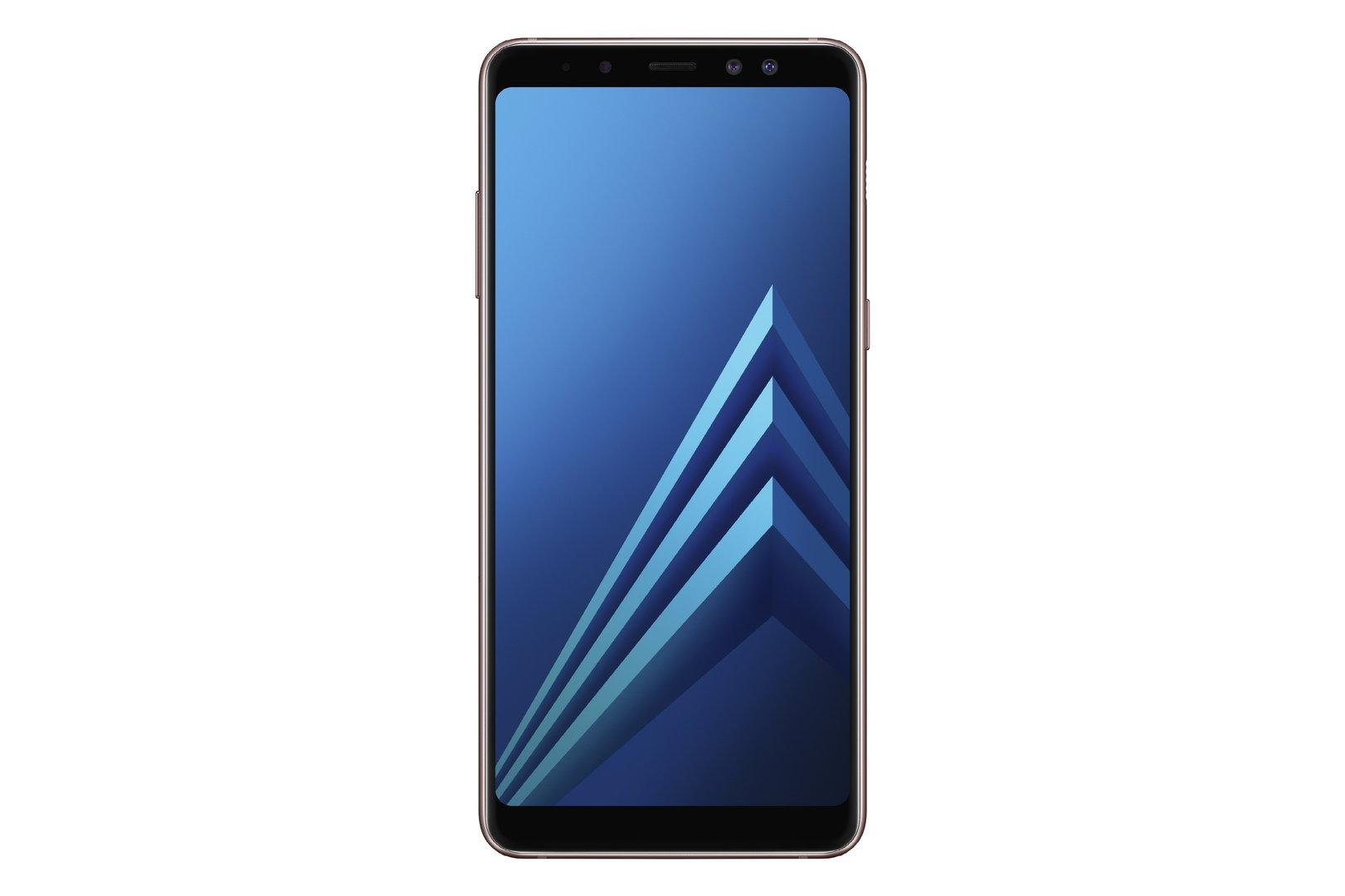 Galaxy A8 in Blau