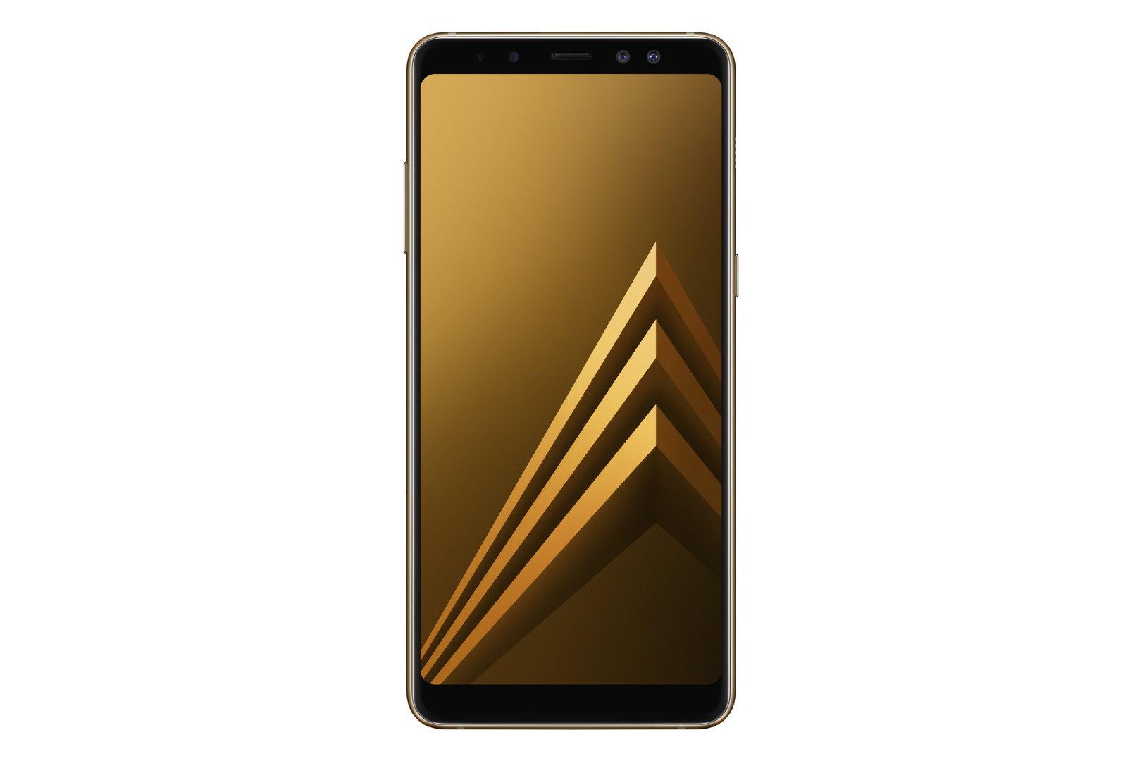 Galaxy A8 in Gold