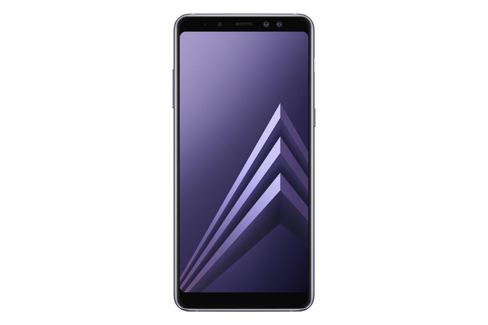 Galaxy A8 in Grau