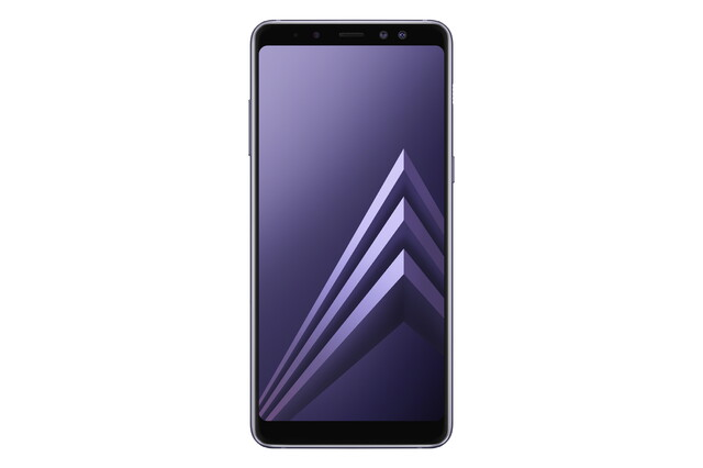 Galaxy A8 in Grau