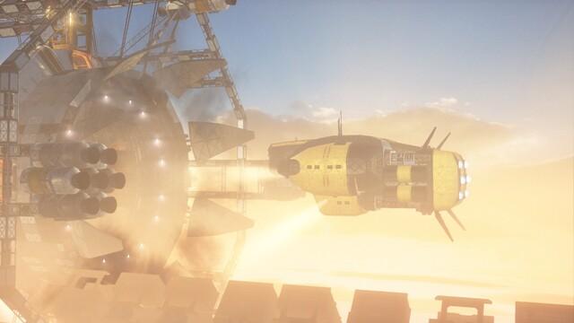 Screenshot aus Sling Shot Extreme mit Vulkan API