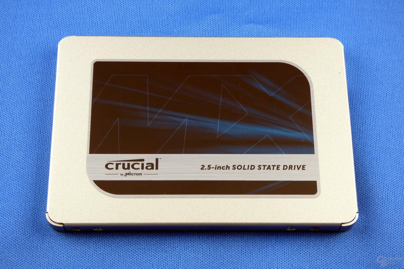 Crucial MX500 im Test