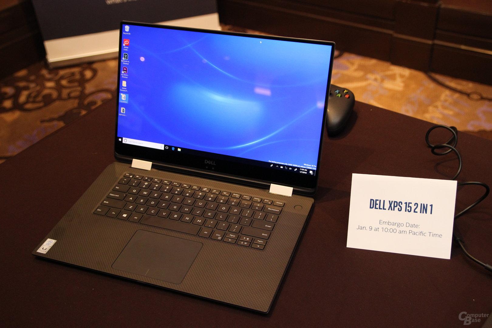 Dell XPS 15 2-in-1 auf der CES 2018
