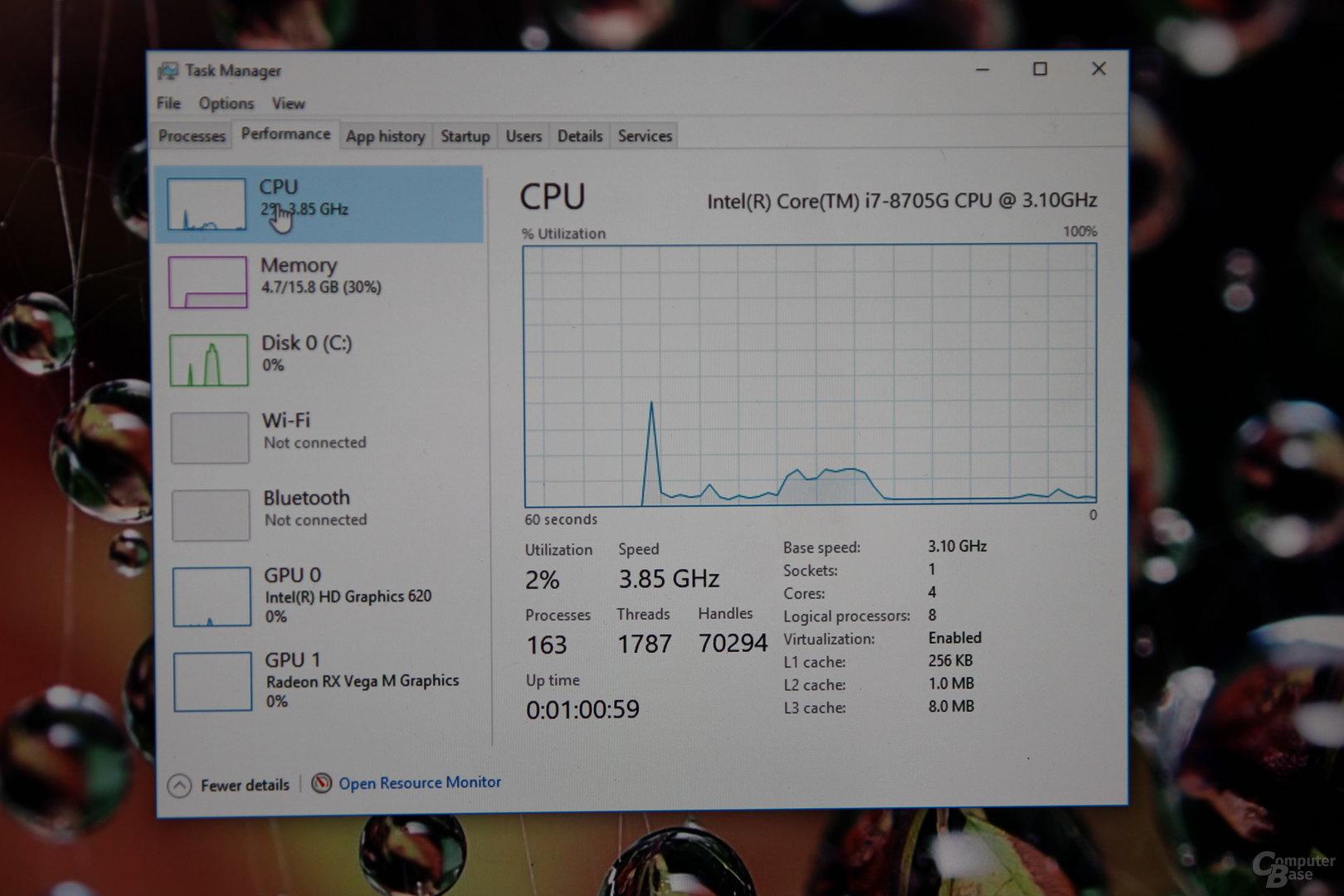 Intel Core i7-8705G mit Vega M