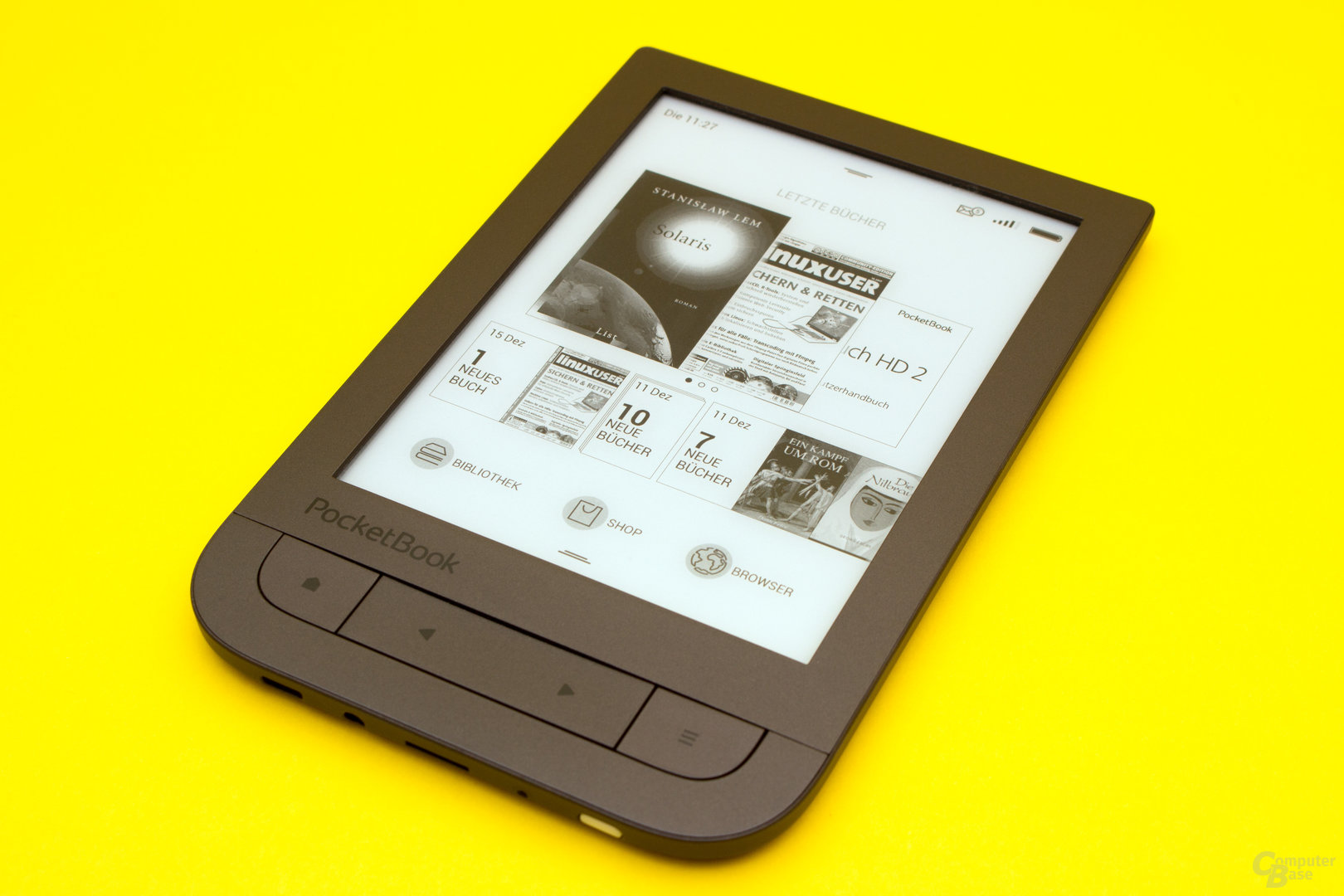 Der PocketBook Touch HD 2 – ein Überzeugendes Gesamtpaket