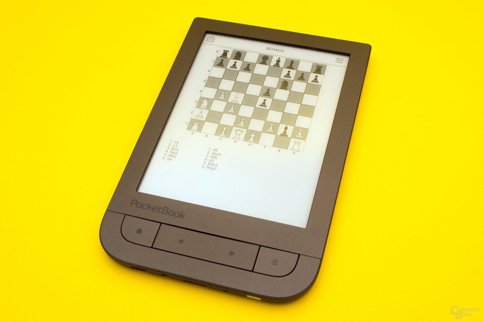 Eine Partie Schach ist auf dem PocketBook Touch HD 2 ebenso möglich...