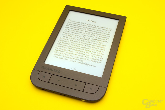 Auch der neue PocketBook Touch HD 2 bietet eine sehr gute Textdarstellung