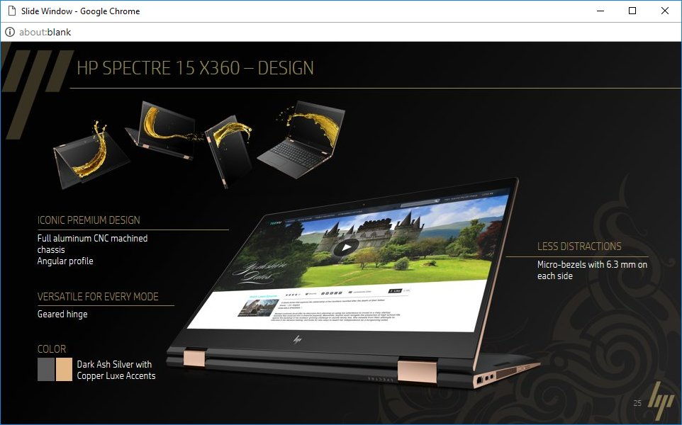 HP Spectre 15 x360 – Design