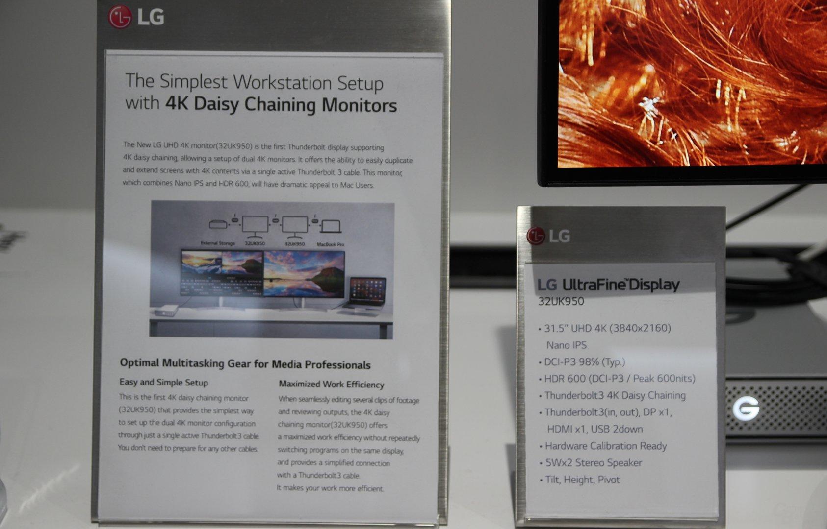 LG 32UK950 mit UHD auf 32 Zoll