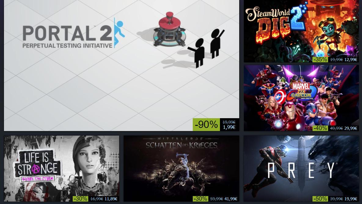 Winteraktion: Steam-Angebote zum Weihnachtsfest