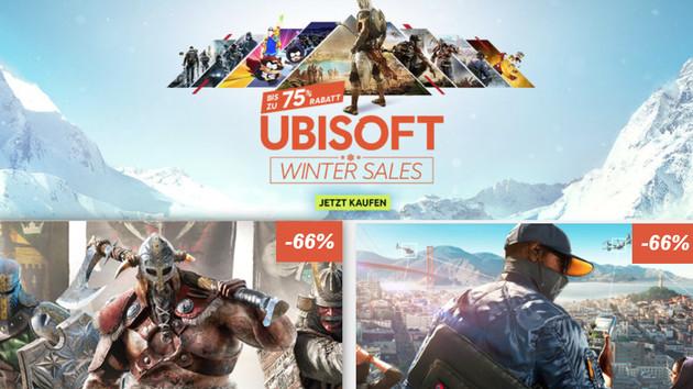 Winter Sale: Rabatte im Ubisoft Store bis zum 4. Januar