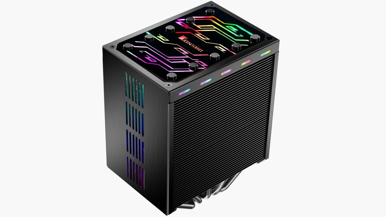 Jonsbo CR-401 RGB: Tower-Kühler bunt und vollverkleidet