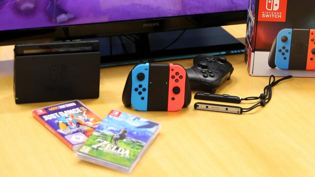 Nintendo Switch: Spielekarten mit 64 GB erst 2019