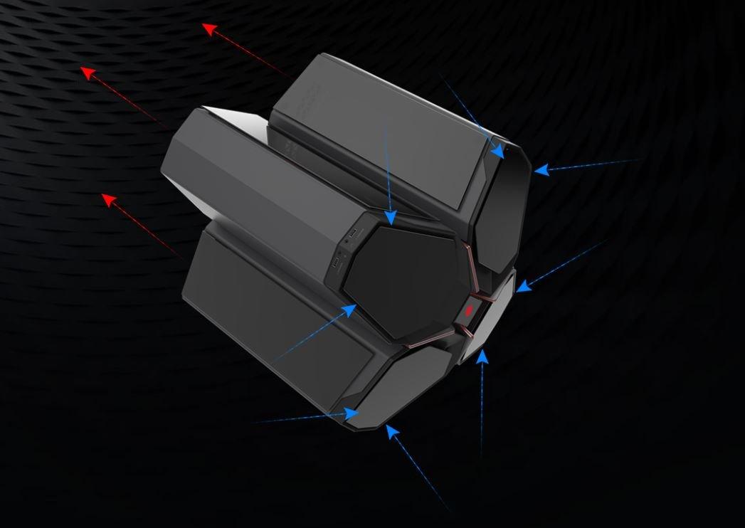 Deepcool Quadstellar – Belüftungsoption