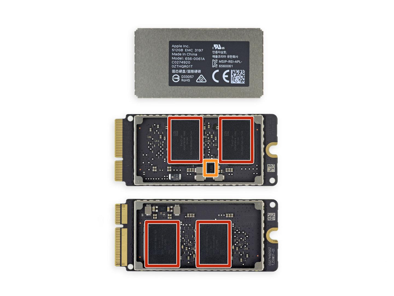 SSDs ohne Controller auf dem PCB