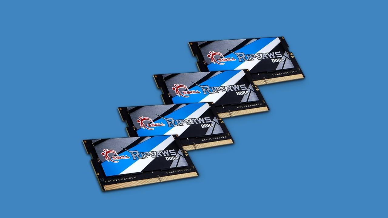 SO-DIMM: Schnelles RAM-Kit mit 64 GByte für Mini-ITX von G.Skill