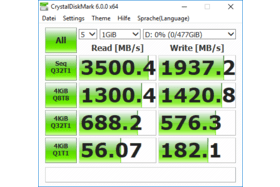 Samsung SSD 960 Pro unter Windows 10 Insider Preview