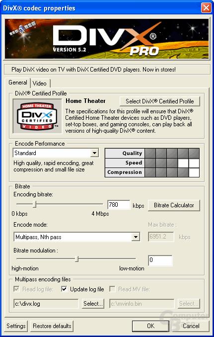 DivX 5.2 Pro