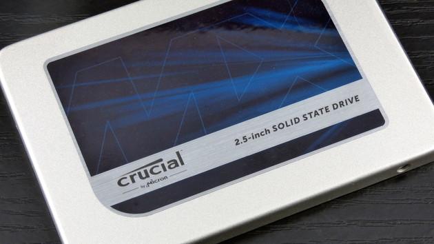 Angebot: Crucial MX300 SSD mit 525 GB für 111 Euro