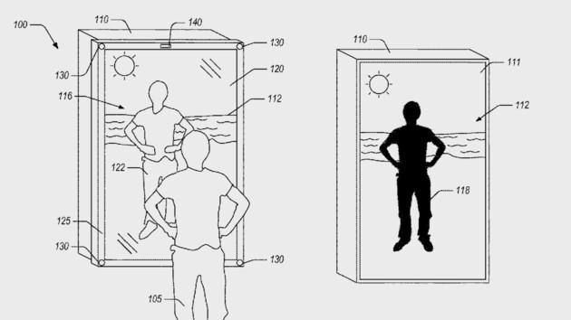 Amazon Blended Reality: Spiegel kleidet Betrachter an fernen Orten ein