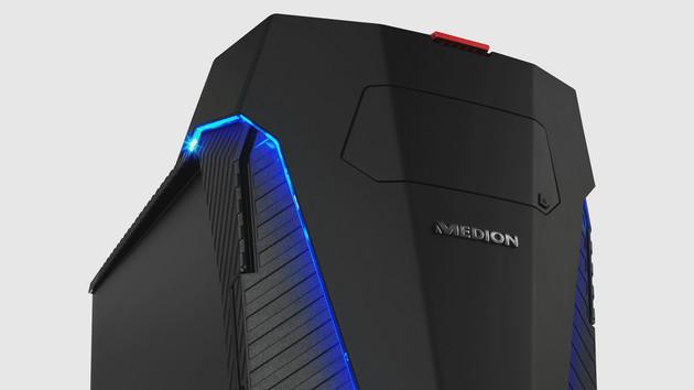 Medion Erazer X87002: Gaming-PC mit Core i9, 1080 Ti und WaKü für 3.999 Euro