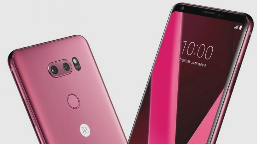 Raspberry Rose: LG gibt dem V30 einen rosa Anstrich