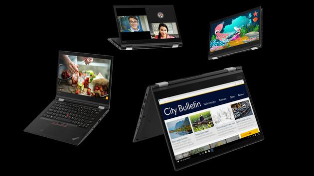 Lenovo-Notebooks: ThinkPad X, T und L für Jahrgang 2018 neu aufgelegt