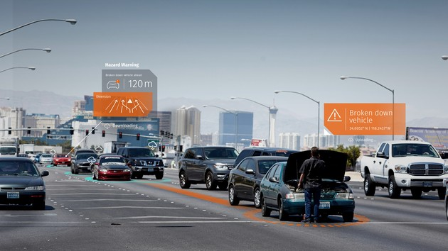 HERE Safety Services: Autos teilen Sensordaten zur Gefahrenprävention