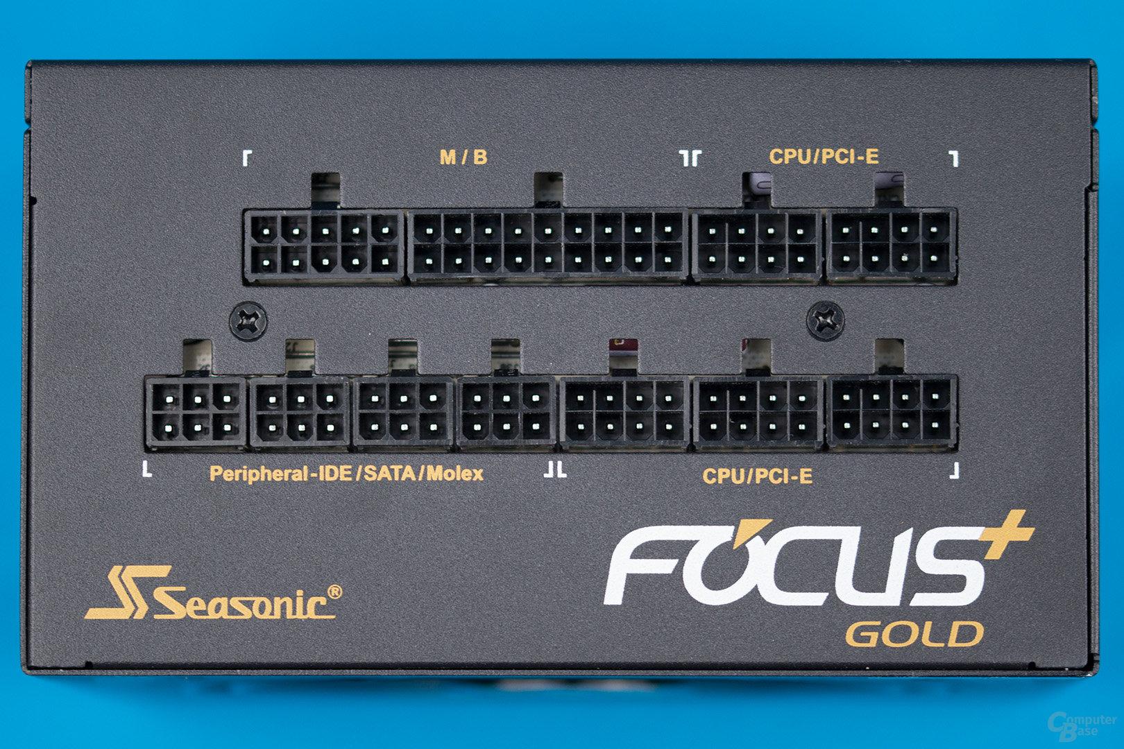 Sea Sonic Focus Plus Gold 550W – Anschlussplatine