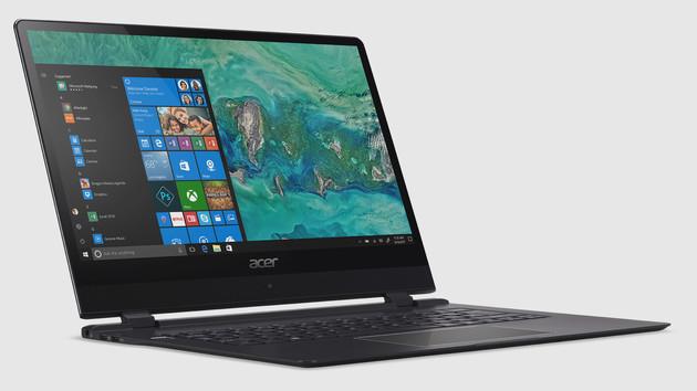 """Swift 7 (2018): Acer legt das """"dünnste Notebook der Welt"""" neu auf"""