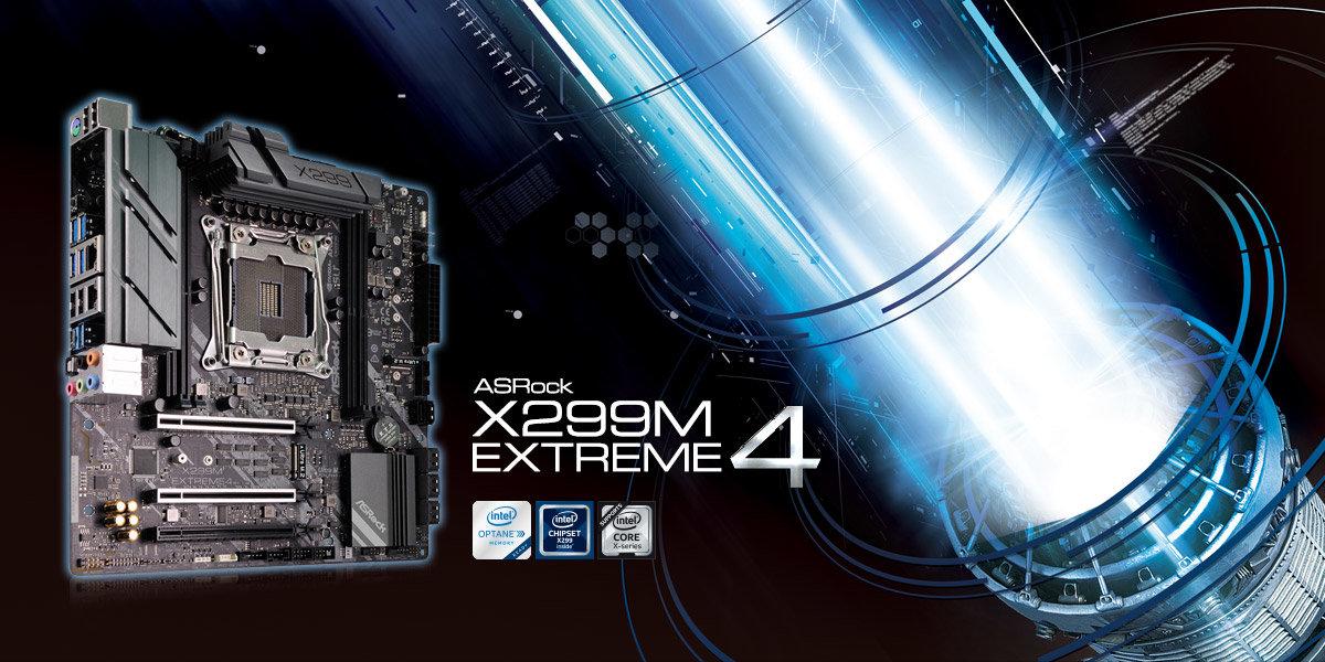 ASRock X299M Extreme4